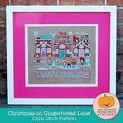 The Frosted Pumpkin Stitchery - Christmas On Gingerbread Lane_THUMBNAIL