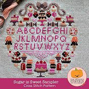 The Frosted Pumpkin Stitchery - Sugar Is Sweet Sampler