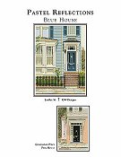 CW Designs - Pastel Reflections Blue House