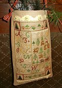 Homespun Elegance - Purely Samplers Collection - Christmas Trees A Plenty