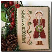 Little House Needleworks - Calendar Girls #12 - December