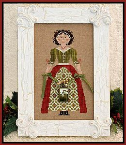 Little House Needleworks - My Lady at Christmas MAIN