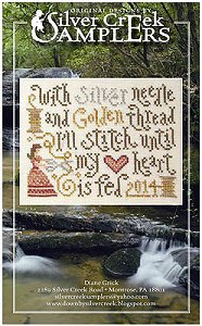 Silver Creek Samplers - Stitching Feeds My Heart MAIN