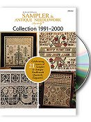 Just Cross Stitch DVD Sampler & Antique Needlework Collection 1991-2000