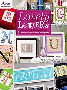 Annie's Cross Stitch - Lovely Letters