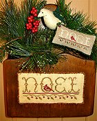 Homespun Elegance - Merry Noel Collection - Wondrous Noel THUMBNAIL