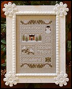 Country Cottage Needleworks - Snow Sampler THUMBNAIL