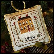 Little House Needleworks - The Sampler Tree Ornament Series - #1 Old Colonial