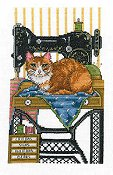 Imaginating - Vintage Sewing Cat 2904