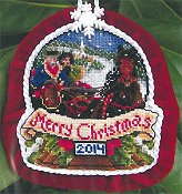 Blackberry Lane Designs - Sleigh Ride Ornament THUMBNAIL