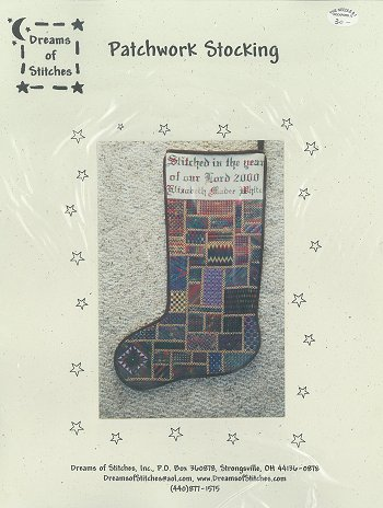 Dreams of Stitches - Patchwork Stocking