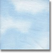 Clear Sky Dyed Fabric 14 Count