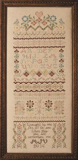 Custom Frame - Marilyn's Heirloom Sampler