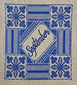 Northern Expressions Needlework - Birthstone Series - September Sapphire THUMBNAIL