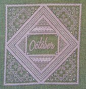 Northern Expressions Needlework - Birthstone Series - October Opal THUMBNAIL