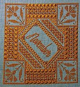 Northern Expressions Needlework - Birthstone Series - November Topaz THUMBNAIL