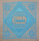 Northern Expressions Needlework - Birthstone Series - December Turquoise