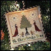 Little House Needleworks - The Sampler Tree Ornament Series - #2 Oh Christmas Tree