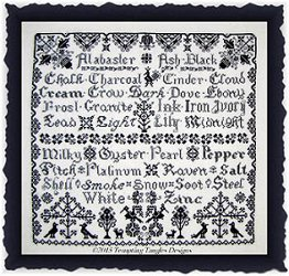 Tempting Tangles Designs - Ebony & Ivory MAIN