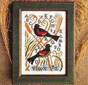 Carriage House Samplings - Red-Winged Blackbirds THUMBNAIL