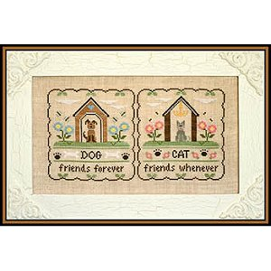 Country Cottage Needleworks - Furry Friends MAIN