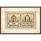 Country Cottage Needleworks - Furry Friends THUMBNAIL