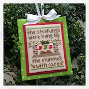 Country Cottage Needleworks - Classic Collection #7 - By The Chimney THUMBNAIL