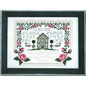 Tiny Modernist - Roses & Bunnies Sampler THUMBNAIL