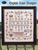 Jeannette Douglas Designs - English Rose Sampler THUMBNAIL