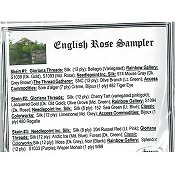 Jeannette Douglas Designs - English Rose Sampler Embellishment Pack