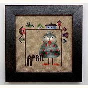 Heart In Hand Needleart - Joyful Journal - April THUMBNAIL