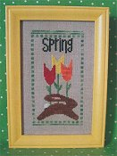 Angel Stitchin - Spring