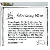 Jeannette Douglas Designs - The Spring Bird Embellishment Pack_THUMBNAIL