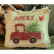 Homespun Elegance - Merry Noel Collection - Avery's Little Red Truck_THUMBNAIL