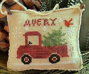 Homespun Elegance - Merry Noel Collection - Avery's Little Red Truck MAIN