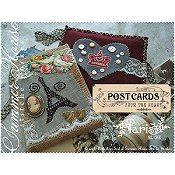 Summer House Stitche Workes - Postcards From The Heart - #1 Paris