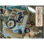 Summer House Stitche Workes - Postcards From The Heart - #2 Voyage