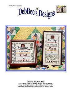 DebBee's Designs - Home Samplers MAIN