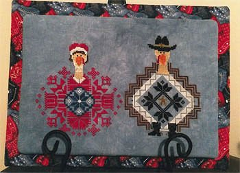 AuryTM Designs - Bonnie and Clyde Gobble Trouble MAIN