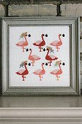 Sekas & Co - Watercolour Flamingos