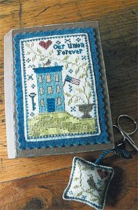 Chessie & Me - Patriotic Stitch Book MAIN