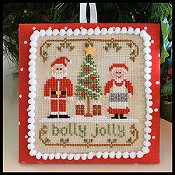 Country Cottage Needleworks - Classic Collection #8 - Holly Jolly THUMBNAIL