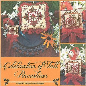 Lindsay Lane Designs - Celebration of Fall Pincushion MAIN