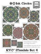 Ink Circles - RYO Mandala Set 4