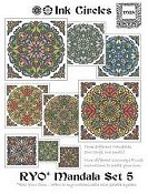 Ink Circles - RYO Mandala Set 5