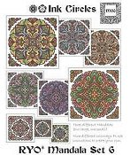 Ink Circles - RYO Mandala Set 6