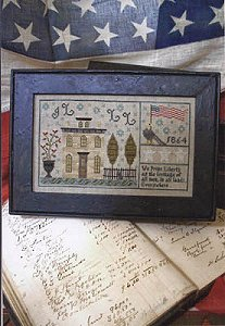 Chessie Amp Me Tallman House 1864 Sampler Cross Stitch