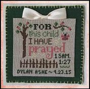 Cherry Hill Stitchery - For This Child