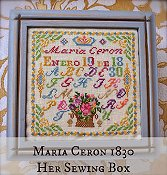 Lindsay Lane Designs - Maria Ceron 1830 Her Sewing Box
