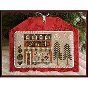 Little House Needleworks - Hometown Holiday Series - #8 Florist